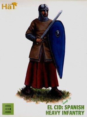 Hat Figures 28mm - El Cid Spanish Heavy Infantry - HAT28001