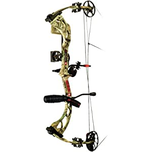 PSE Stinger 3G RTS Package Right Hand Bow, 70-Pound, Mossy Oak Break Up Infinity by PSE