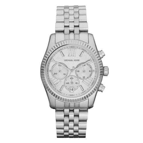 Michael Kors MK5555 Mens Silver Chronograph Watch