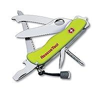 Victorinox Taschenmesser RescueTool (15 Funktionen, Frontscheibensäge, Scheibenzertrümmerer, Lebenslange Garantie)