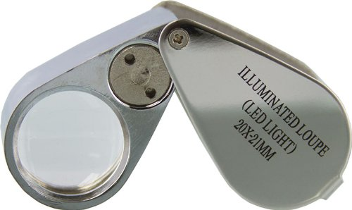 SE Illuminated Loupe with LED Light - 20X