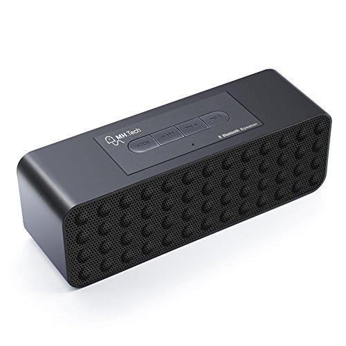 MHtech-Wireless-Tragbare-Bluetooth-Lautsprecher-10-Watt-mit-8-12-Stunden-Akkubetrieb-Untersttzt-Micro-SD-Karten-Bluetooth-Boombox-mit-Kraftvoller-Bass-und-Eingebautem-Mikrofon-fr-Apple-iOS-und-Android