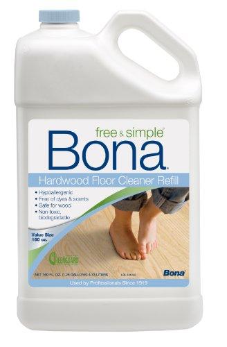 Bona® 160oz Free & Simple Hardwood Floor Cleaner Refill (Bona Floor Cleaner Free compare prices)