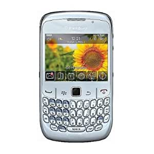 Blackberry Gemini 8520 White Unlocked Cell Phone with 2 MP Camera, Bluetooth, Wi-Fi--International Version with No Warranty (White)