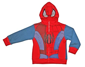 Spiderman Toddler Boys 2T-5T Costume Hoodie Jacket (2T)