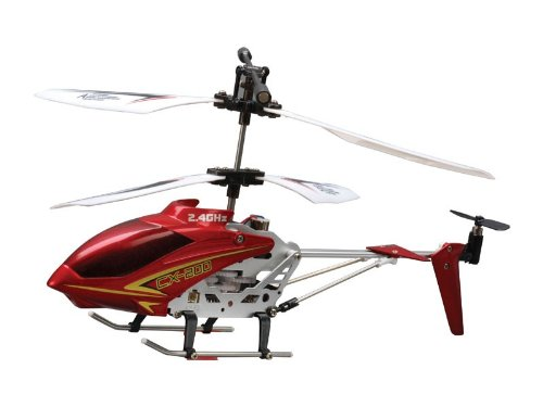 Hobby People CX-200 RC Helicopter CoAxial Ready-To-Fly Heli w/2.4HGz 3CH RX