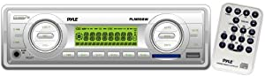 Pyle PLMR88W AM FM-MPX In-Dash Marine MP3 Player USB & SD Card Function by Pyle