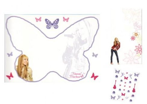 Blue Mountain Wallcoverings 31720510 Hannah Montana Dry Erase Kit