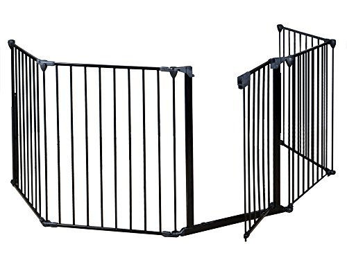 Safety Gate Fence For Pet Dog Cat and Baby (30 Inch Stove Top Cover compare prices)