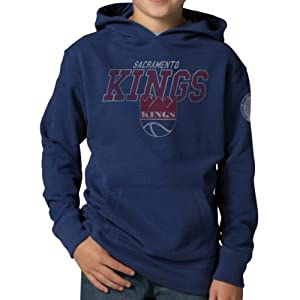 NBA Sacramento Kings Playball Hoodie Jacket, Bleacher Blue by