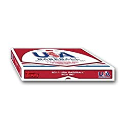 Buy MLB 2011 Topps USA Baseball Box Set, Pack of 1 by Topps