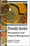 img - for Personality Disorders: Recognition and Clinical Management book / textbook / text book