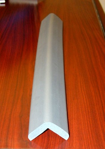 Kids Edge Wide Profile Pad, One Stick W/Tape GRAY 54 inch