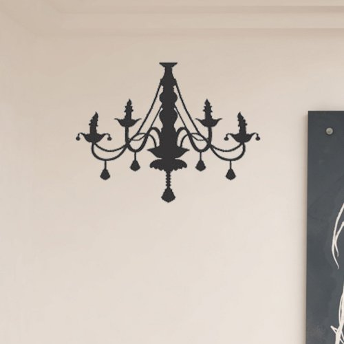 Peel N' Stick Modern Chandelier Wall Decal Sticker