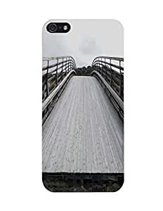 Bagsfull Designer Printed Matte Hard Back Cover Case For Apple Iphone 5 5G 5s