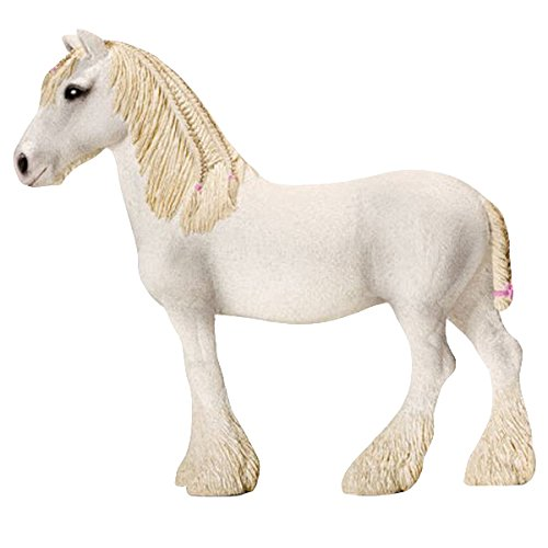 Schleich Shire Mare Toy Figure - 1