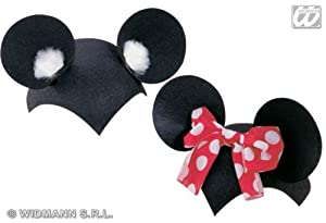Mouse Cap Felt Dress-Up Fun Hats Caps & Headwear for Fancy Dress Costumes  Accessory