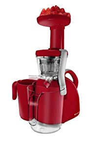 Slow Juicer For Restaurants : [6] Big Boss 9177 Nutritionally Beneficial Slow Juicer Red Kitchen & Dining - Juice Extractor