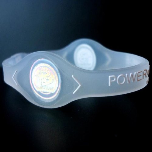 Power Balance Silicone Wristband Bracelet (Color:clear;