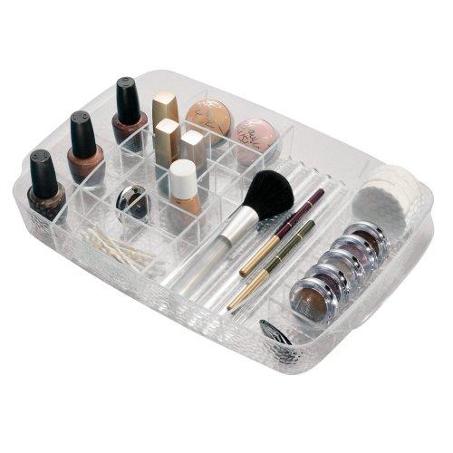 Organizzatore di qualit in plexiglas porta trucchi porta cosmetici cassetto con inserti - Accessori bagno plexiglass amazon ...