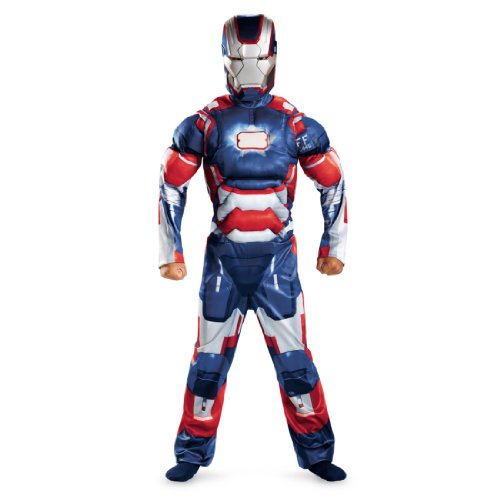 IRON MAN 3 Patriot Child Muscle Costume 2013 Movie