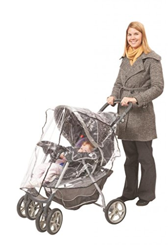 Comfy Baby! Universal Clear Waterproof Rain Cover/Wind Shield for Jumbo Stroller