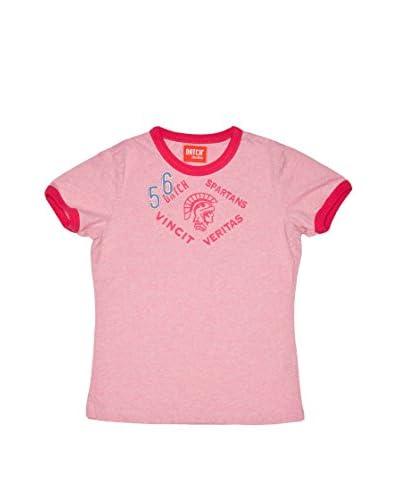 Datch Dudes T-Shirt Manica Corta  [Rosa Medio]