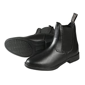 PFIFF Jodhpurstiefelette, schwarz-braun, Schuhgrösse 38