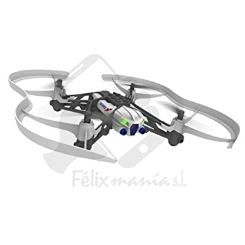 Mini Drone Parrot Airbone Fonction Mars Volant Robot Blanc/Gris 48/72H Felixmania® Livraison