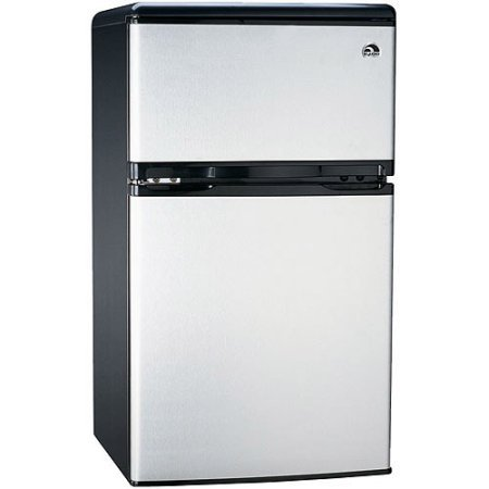 Igloo 3.2 cu. ft. 2-Door Refrigerator and Freezer, Stainless Steel (Sub Zero Refrigerator Thermostat compare prices)