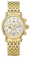 Michele CSX-36 Chronograph Diamond Gold-Tone Ladies Watch