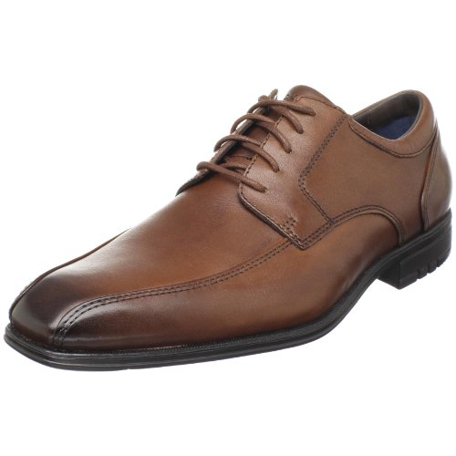 Rockport Men's Macudam Dark Tan Shoe K53171  10.5 UK , 45 EU , 11 US
