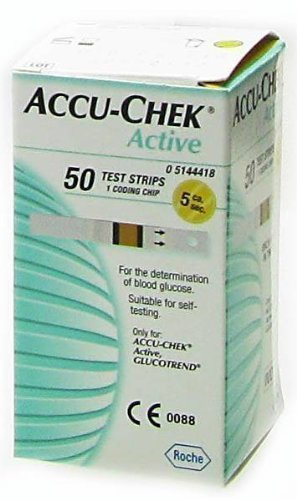 ACCU-CHEK ACTIVE GLUCOSE TEST STRIPS – 50