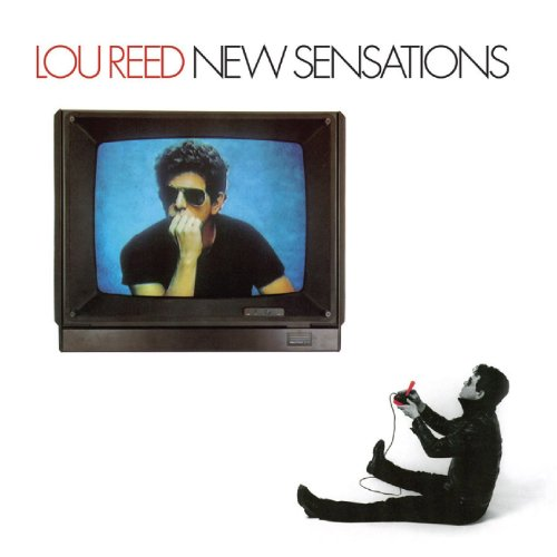 Original album cover of New Sensations by Lou Reed