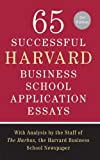 65 Successful Harvard Business School Ap...