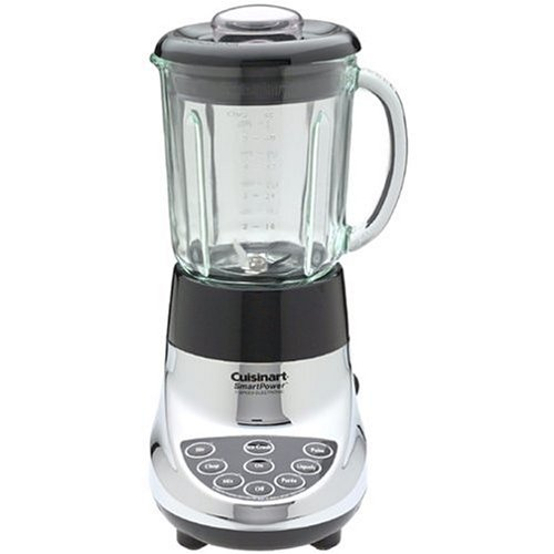 Factory-Reconditioned Cuisinart SPB-7CHFR SmartPower 7-Speed Electronic Blender, Chrome (Cuisinart Smartpower Lids compare prices)