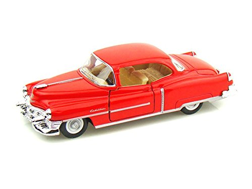 1953 Cadillac Series 62 Coupe 1/43 Red