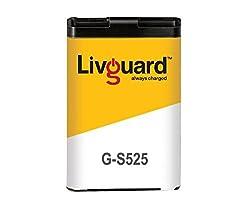 Livguard G-S525 Battery for Samsung Phones (Black)