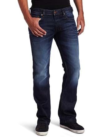 Diesel Men's Zatiny Regular Bootcut Jean 0073N, Denim, 26x30