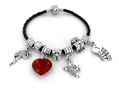 Alice in Wonderland Multi Charm Bracelet - Medium 7.5