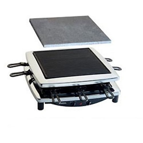 Steba RC 3 Raclette plus, chrom