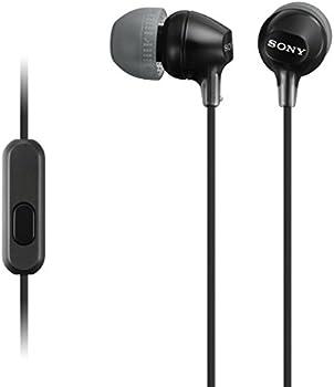 Sony MDR-EX15AP Earbud Headphones w/Mic
