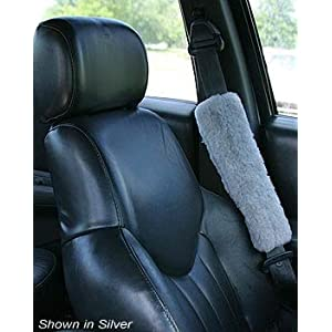 Fleece Seat Belt Cover, Shoulder Protector - Wheelchair Cushions