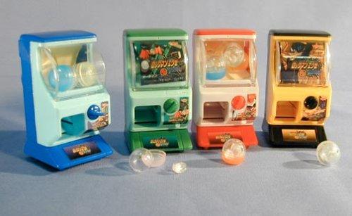 Mega Man EXE Mini Gashapon Green Vending Machine 93314