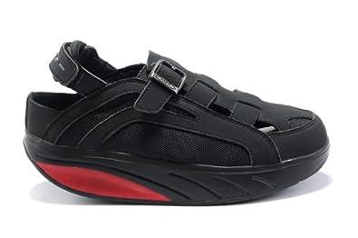 MBT Men's Gil Gil Walking Shoes (43, Black)