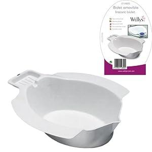 Bidet Amovible avec Porte Savon / sur Toilettes WC