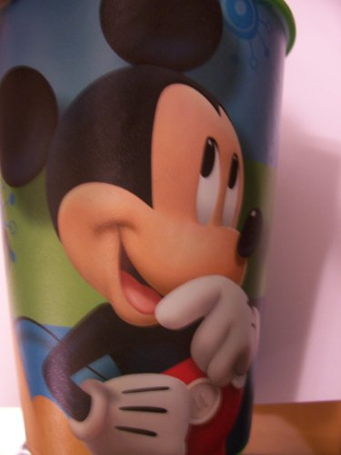 Disney Mickey Mouse & Pluto 16 oz Plastic Cup by Hallmark (Best Friends) - 1