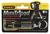 Stanley 95-113 Mini Tripod Keychain LED Flashlight, Color May Vary