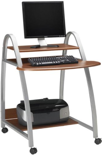 Mobile Arch Computer Desk Anthricite
