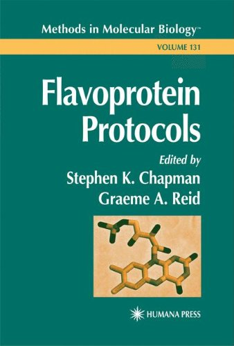 Flavoprotein Protocols (Methods In Molecular Biology)